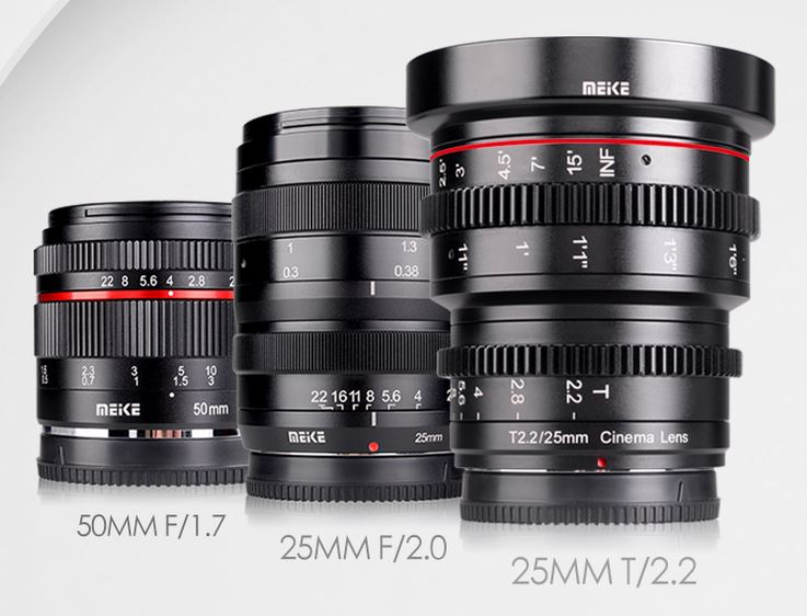 E-Mount Database: Four New Lenses