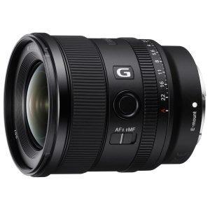 Sony Drops Fast Full Frame 20mm