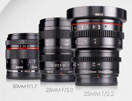 Three New Meiki Lenses